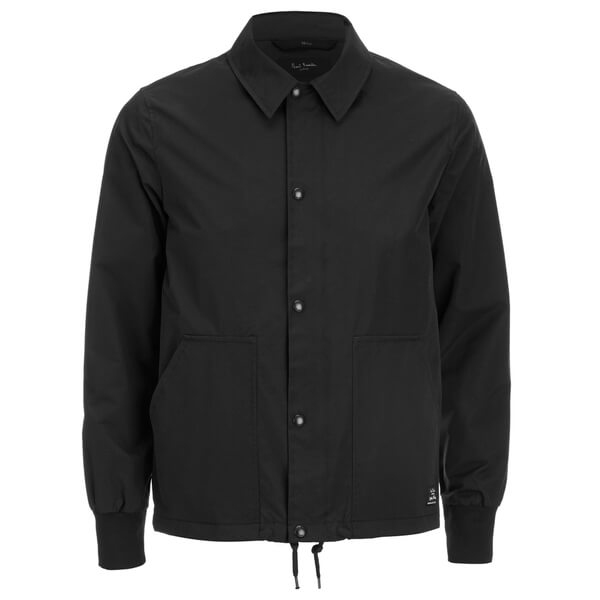 Paul Smith Jeans Men's Nylon Harrington Jacket - Black