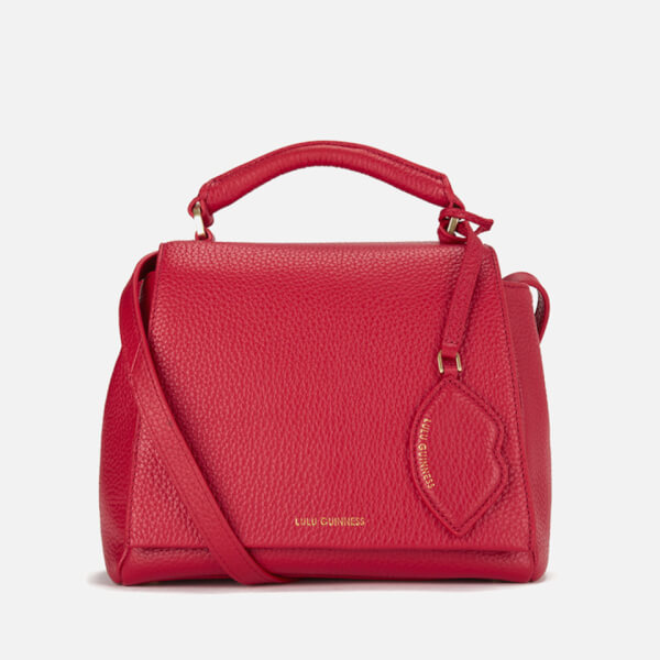 Lulu Guinness Women's Rita Small Cross Body Grab Bag - Red