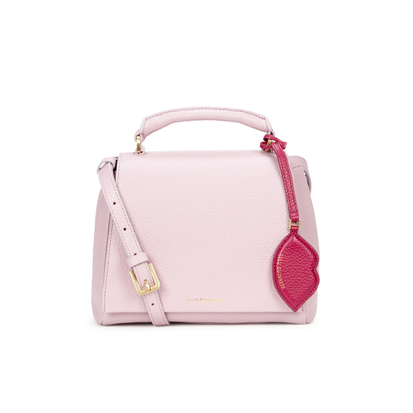 Lulu Guinness Women's Rita Small Cross Body Grab Bag - Light Magenta