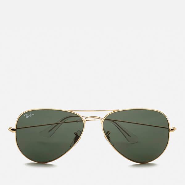 Ray-Ban Aviator Large Metal Sunglasses 58mm - Mirrow Multi Green