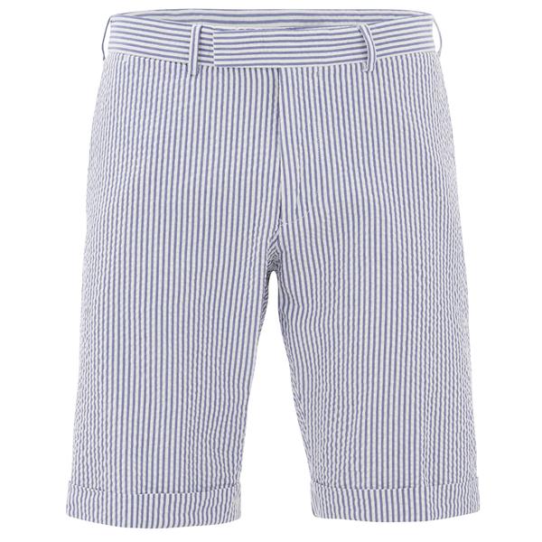 GANT Rugger Men's Seersucker Shorts - Yale Blue Mens Clothing ...