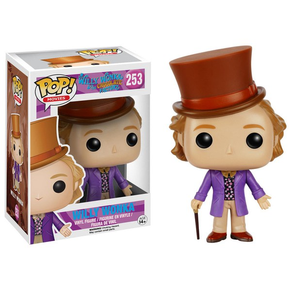 Willy Wonka and the Chocolate Factory Willy Wonka Pop! Vinyl Figure