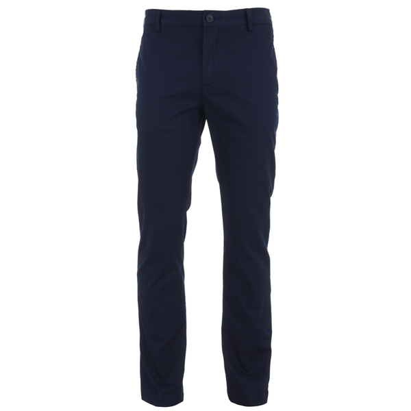 Lacoste Men's Gabardine Chino Pants - Navy