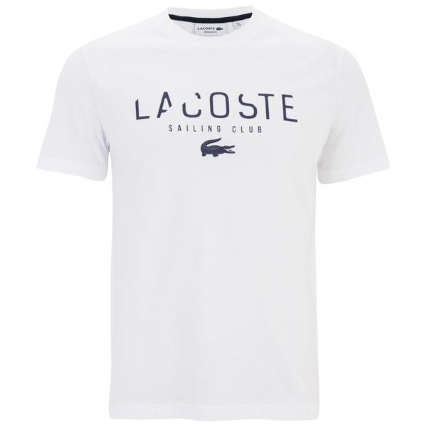 Lacoste Men's Large Logo T-Shirt - White