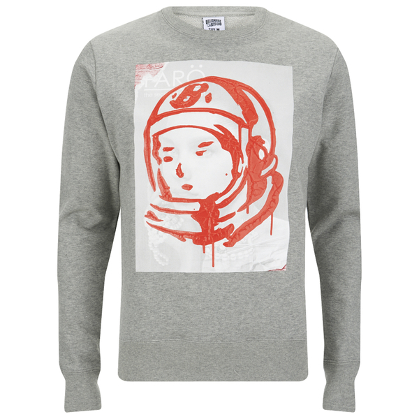 Billionaire Boys Club Men's Billionaire Fiti Crew Neck Sweatshirt - Heather Grey