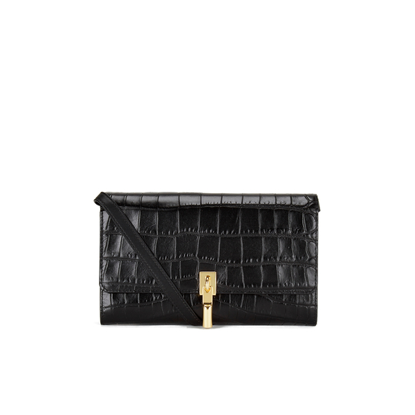 Elizabeth and James Women's Cynnie Wallet on a Chain Clutch Bag - Black