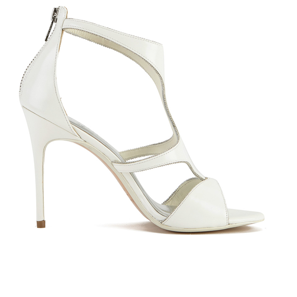 Ted Baker Women's Shyea Leather Strappy Heeled Sandals - Cream