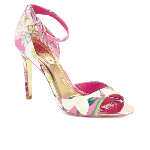 d45eaadda Ted Baker Women s Caleno Heeled Sandals - Encyclopedia Floral  Image 2