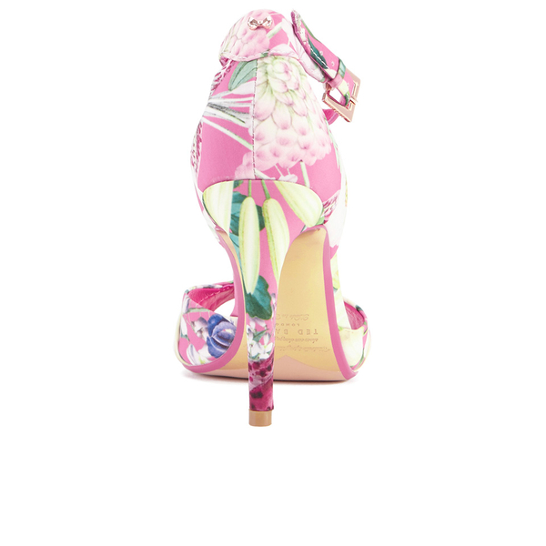 2d360e0dee99 Ted Baker Women s Caleno Heeled Sandals - Encyclopedia Floral  Image 3