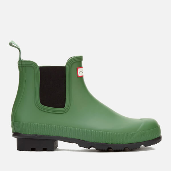 Hunter Men's Original Dark Sole Chelsea Boots - Bright Grass
