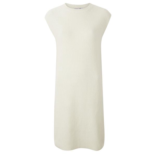 Helmut Lang Women's Cashwool Tunic Dress - Pearl