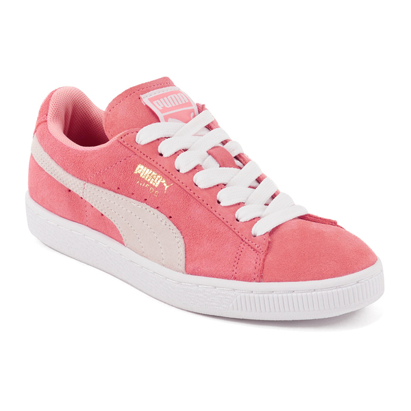59a55c5047fb Puma Women s Suede Classic Low Top Trainers - Desert Flower White  Image 4