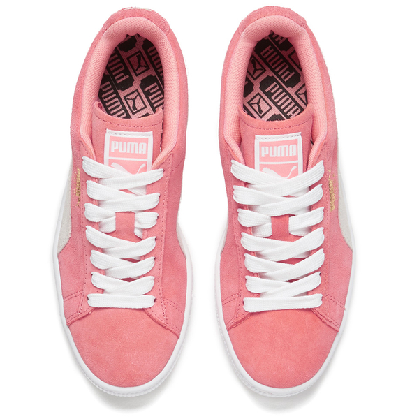 d104feccb2aa Puma Women s Suede Classic Low Top Trainers - Desert Flower White  Image 2