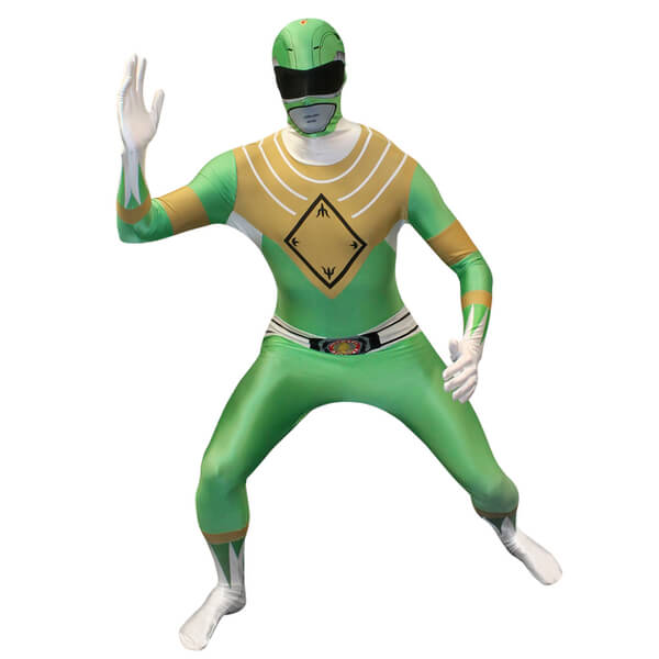 Morphsuit Adults' Power Rangers Green