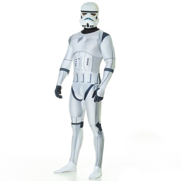 Morphsuit Star Wars Stormtrooper Deluxe -Adulte - M - Blanc