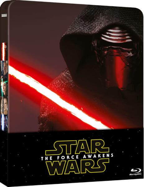 Star Wars : Le Réveil de la Force – Steelbook édition limitée exclusive (Édition UK)