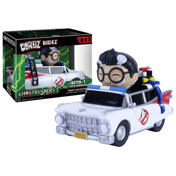 Ghostbusters Dr. Egon Spengler with Ecto-1 Dorbz Vinyl Figure