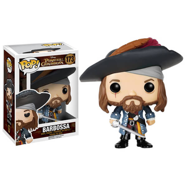 Figurine Pop! Disney Pirates des Caraïbes Barbossa