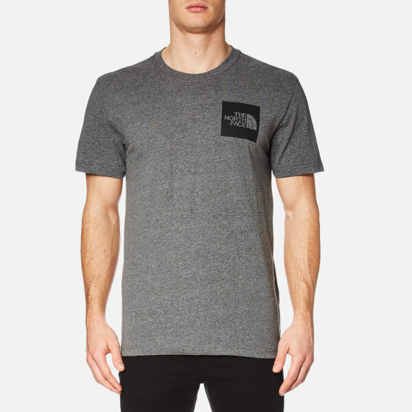 The North Face Men's Short Sleeve Fine T-Shirt - TNF Medium Grey Heather