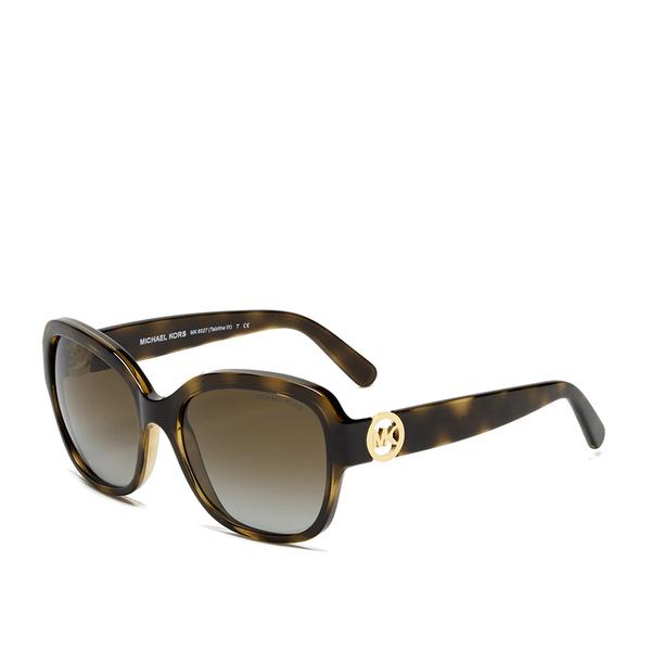 Michael Kors Tortoise Sunglasses  michael michael kors women s tabitha sunglasses dark tortoise