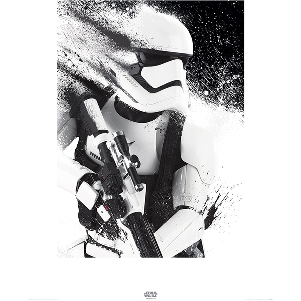 affiche stormtrooper star wars le r veil de la force. Black Bedroom Furniture Sets. Home Design Ideas