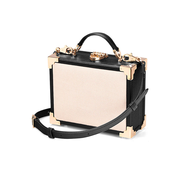 Aspinal Of London Women S Mini Trunk Bag Monochrome Image 3