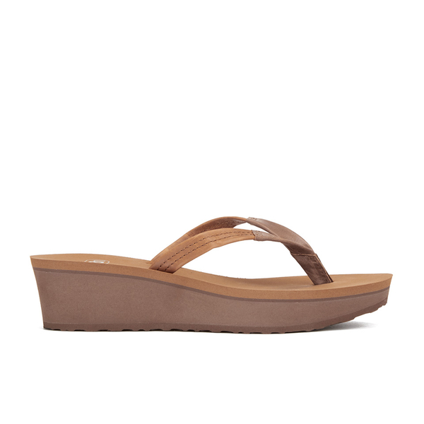 d3055400f765 UGG Women s Ruby Wedged Sandals - Chestnut Womens Footwear