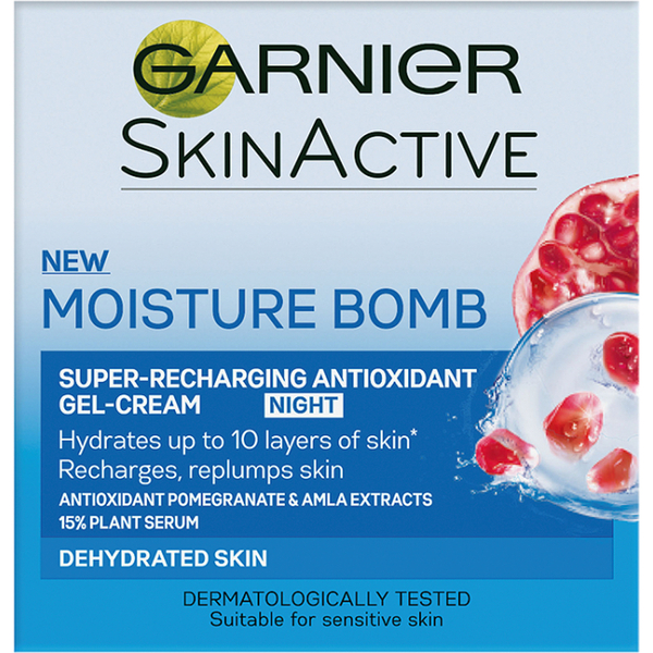 Garnier Moisture Bomb Super-Recharging Night Gel-Cream (50ml)