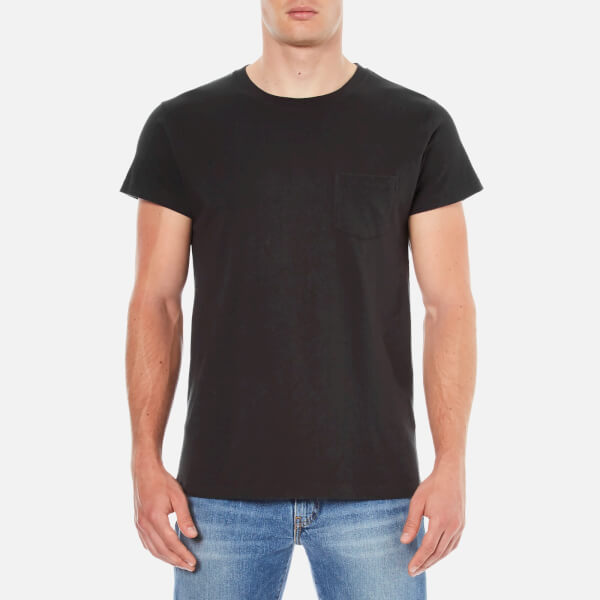 Levi 39 s vintage men 39 s 1950s sportswear t shirt black for Levis vintage denim shirt 1950 sawtooth slim fit