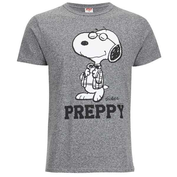 TSPTR Men's Preppy T-Shirt - Grey Marl