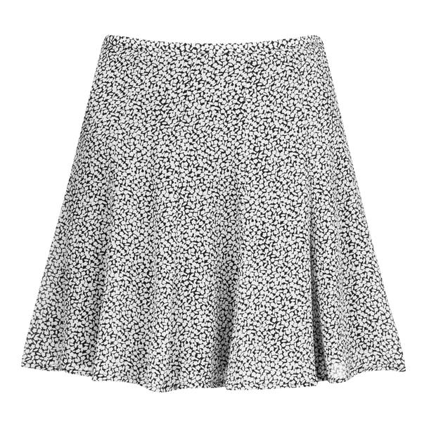 MICHAEL MICHAEL KORS Women's Dallington Silk Flare Skirt - New Navy