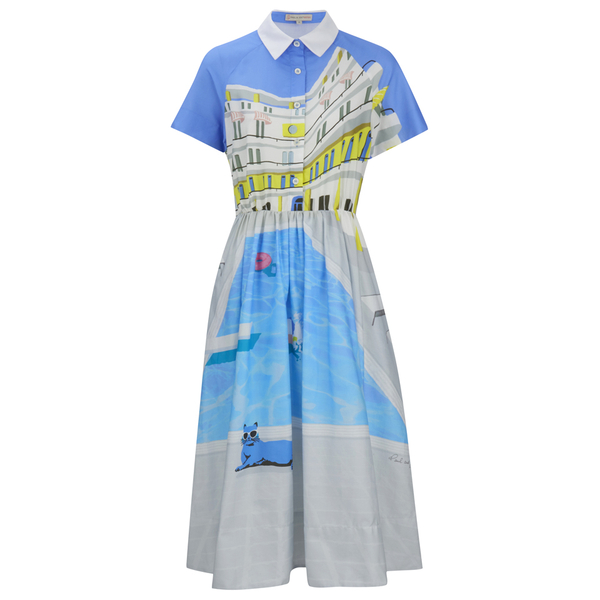 Paul & Joe Sister Women's Parasol Dress - Blue