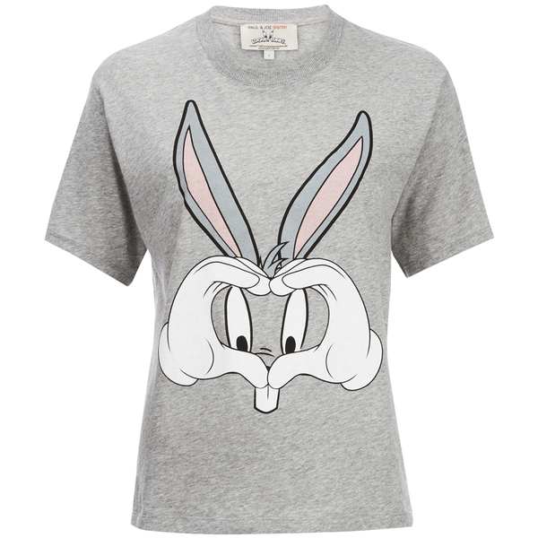 Paul & Joe Sister Women's Teebunny Top - Grey Melange