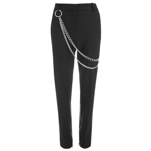 McQ Alexander McQueen Women's Biker Tux Pants - Black