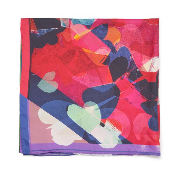 paul smith accessories womens valentine scarf multi image 2