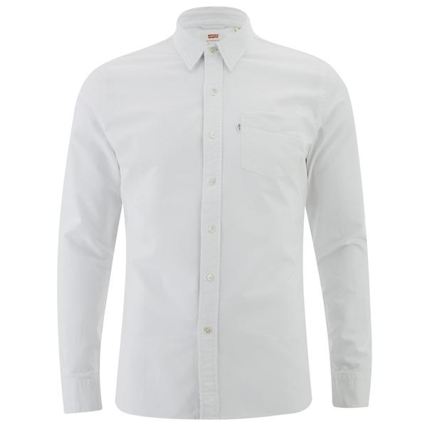 Levi's Men's Sunset 1 Pocket Shirt - White