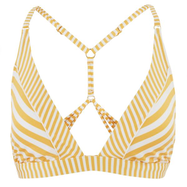 Paolita Women's Voyage Endeavour Bikini Top - Yellow/White