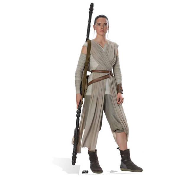 Silhouette en Carton Rey Star Wars : Le Réveil de la Force