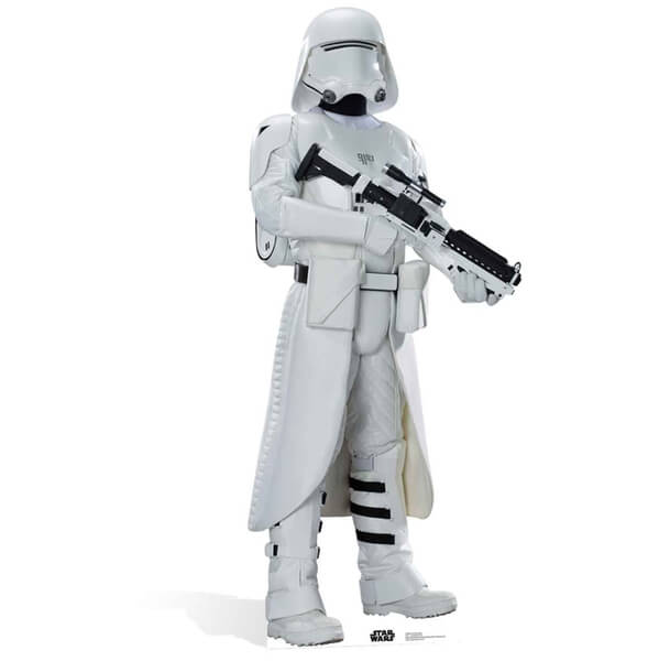 Star Wars The Force Awakens Snowtrooper Life Size Cut Out
