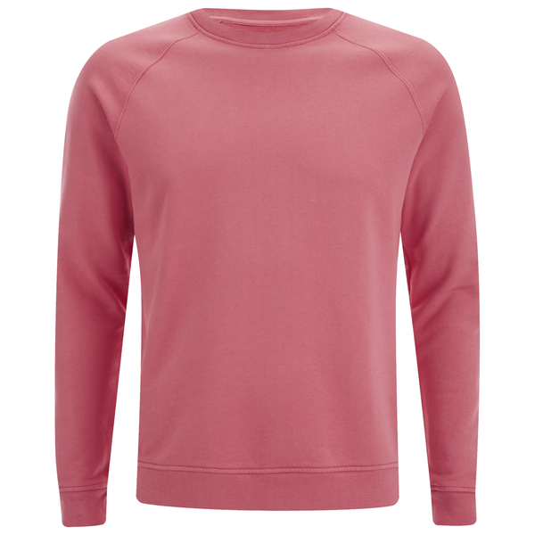Folk Men's Plain Crew Neck Sweatshirt - Sunset