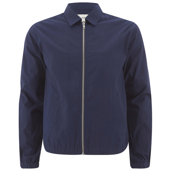 Folk Men's Zipped Jacket - Bright Navy