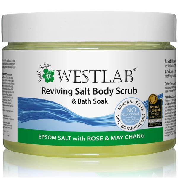 Exfoliante corporal Revive Epsom Salt Body Scrub de Westlab