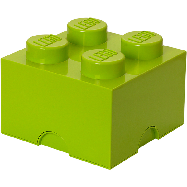 LEGO Storage Brick 4 - Light Green