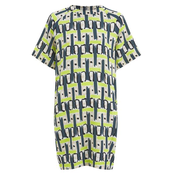 Paul by Paul Smith Women's 30's Graphic Dress - Multi