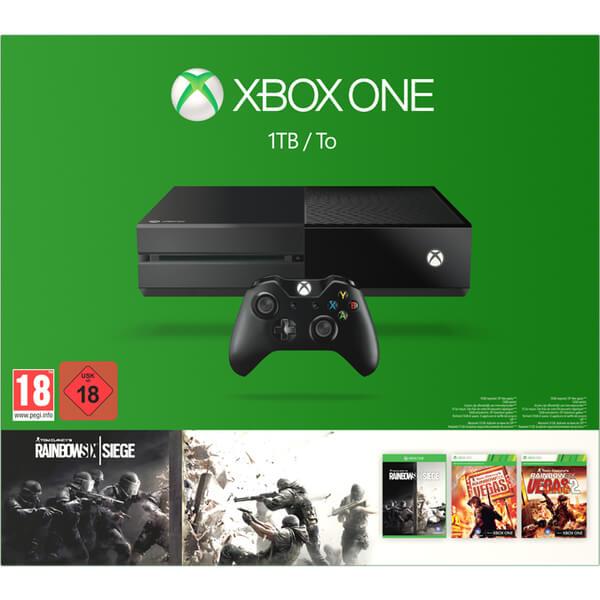 Xbox One 1tb Tom Clancy S Rainbow Six Siege Bundle Games