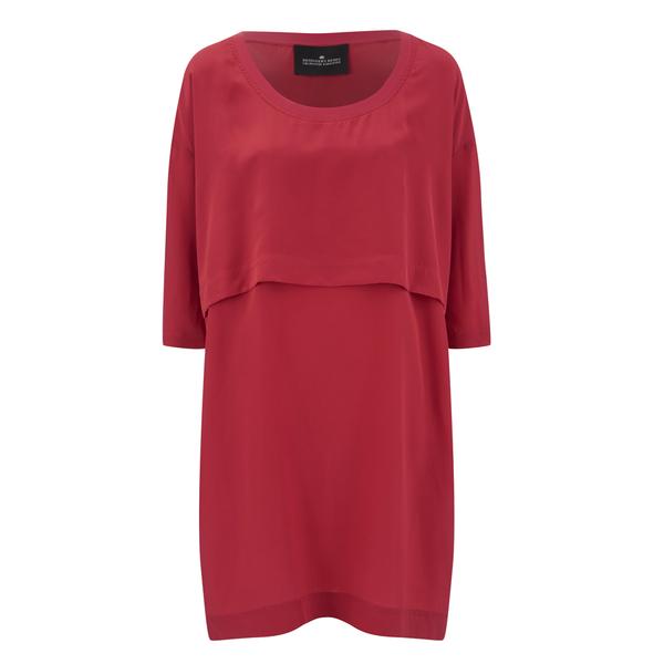 Designers Remix Women's Mila Square Dress - Tomato