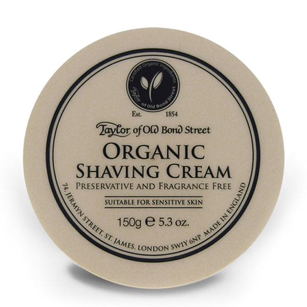 Taylor of Old Bond Street Shaving Cream Bowl - Organic (150g)