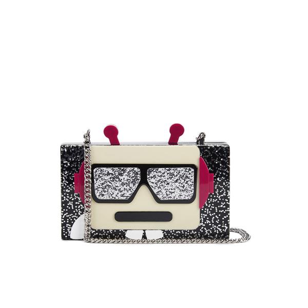 Karl Lagerfeld Women's Minaudiere Robot Clutch Bag - Black
