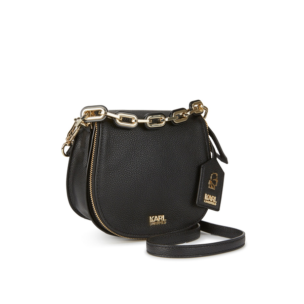 17fb5095556a Karl Lagerfeld Women s K Grainy Satchel Bag - Black  Image 3
