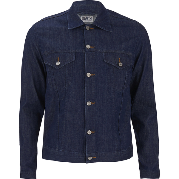 Edwin Men's Buddy Denim Jacket - Blue Denim
